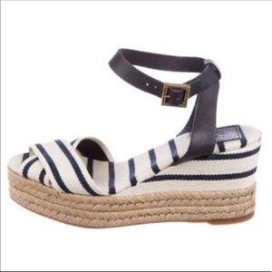 Tory Burch Karissa Espadrille wedge sandal